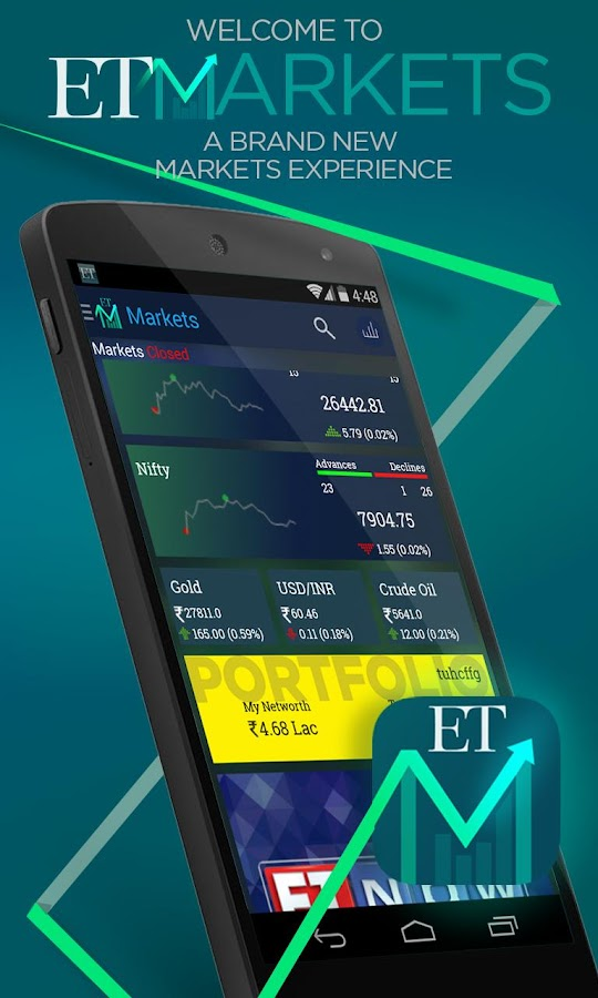 ET Markets : NSE & BSE India- screenshot