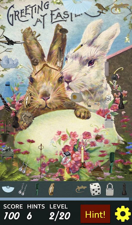 Hidden Object - Happy Easter- screenshot