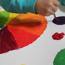 The Colour Wheel Mixing Challenge