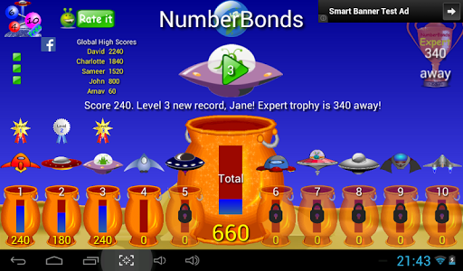 Number bonds ­­