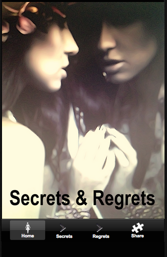 Secrets and Regrets Social App
