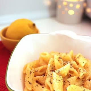 Lemon Penne Pasta.