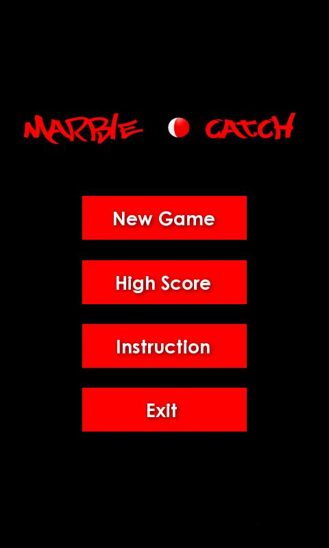 Marble Catch - screenshot