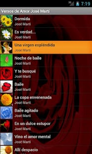 Versos de Amor José Martí - screenshot thumbnail