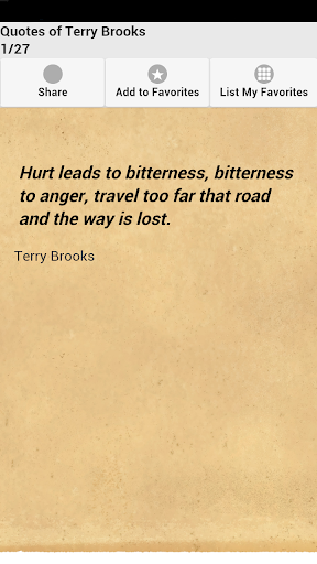 Quotes of Terry Brooks
