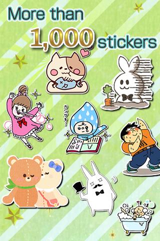 Free Stickers box★Use the chat- screenshot