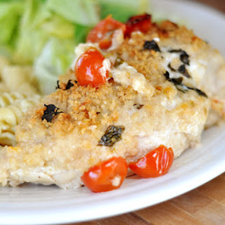 Cheesy Basil Stuffed Chicken Breasts