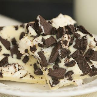 Cookies and Cream White Chocolate Bark