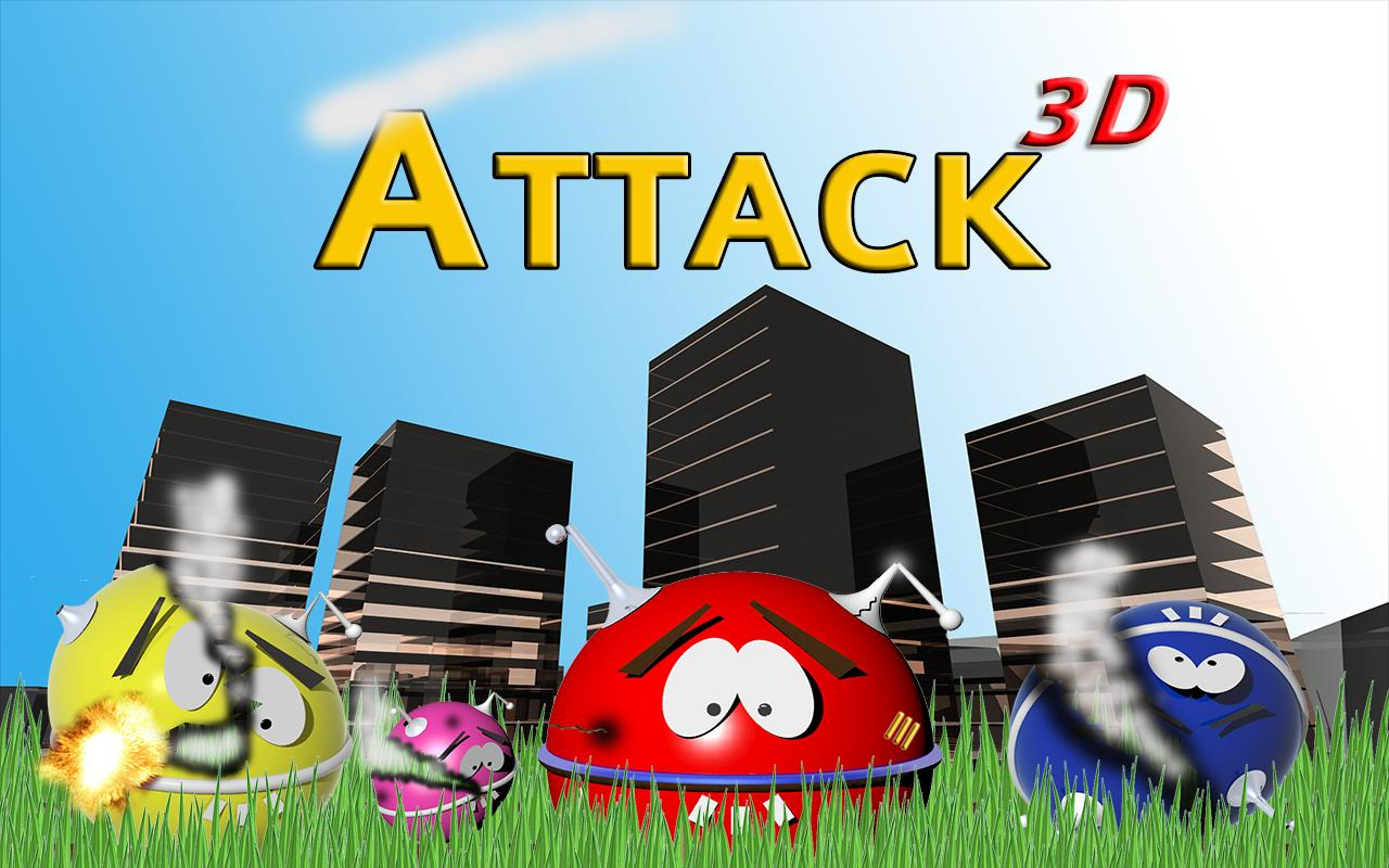 UFO Attack 3D Live LITE - screenshot