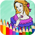 Princess Coloring Book icon