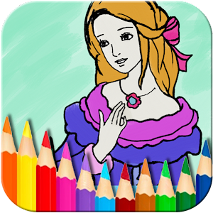 princess coloring book - Coloring Book Apps