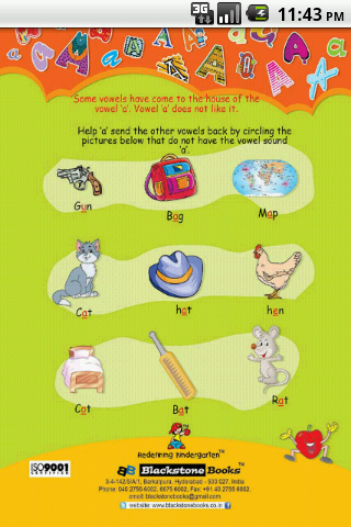 Download english vowel a for lkg kids google play softwares.