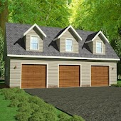 Garage Plans With Apartments
