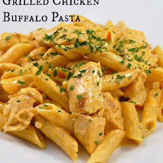 Grilled Chicken Buffalo Pasta.