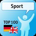 100 Sport Keywords logo
