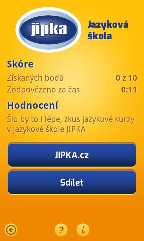 Cizí jazyky hrou!- screenshot