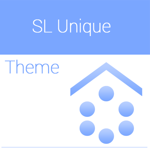 SL Unique Cyan Theme LOGO-APP點子