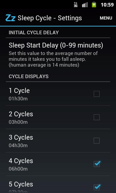 Sleep Cycle - screenshot