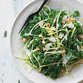 Broccoli Matchsticks and Kale Salad