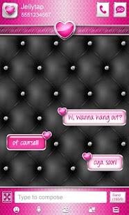 ♥ Elegant Heart Theme Go SMS ♥ - screenshot thumbnail
