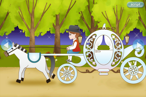 LUMIKIDS app book: Cinderella - screenshot