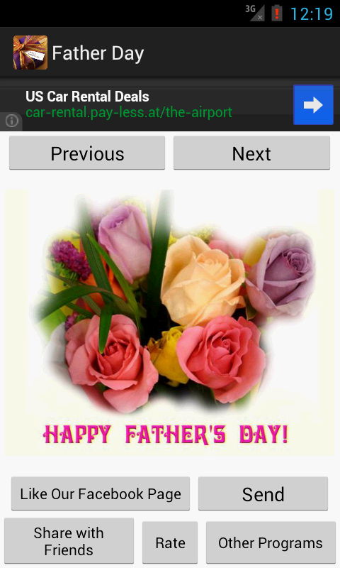 Happy Father's Day - screenshot