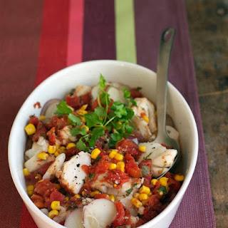 Mexican Cod and Potato Stew.