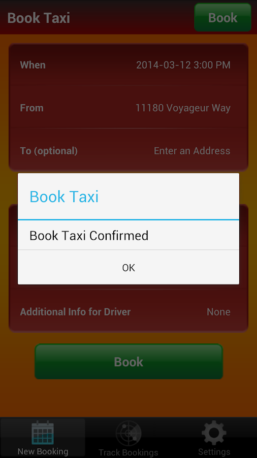 Richmond Taxi- screenshot