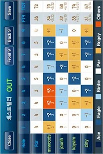 골프대회(토너먼트) - screenshot thumbnail
