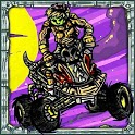 Zombie ATV Race icon