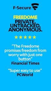 F-Secure Freedome VPN- screenshot thumbnail