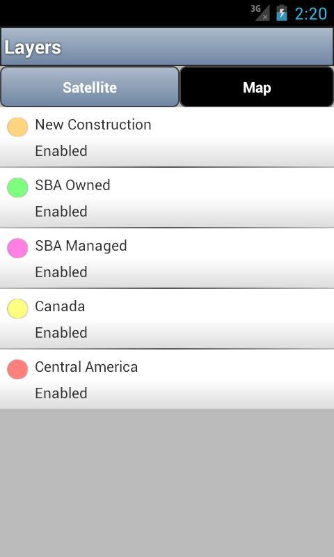SBA Sites™- screenshot