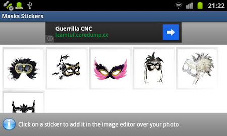 Masks Stickers 1.2 screenshot 6912