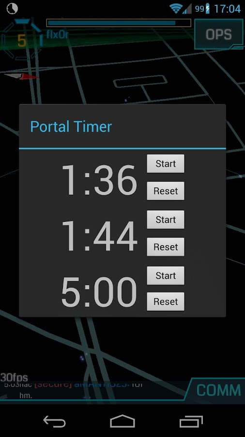 Portal Timer- screenshot