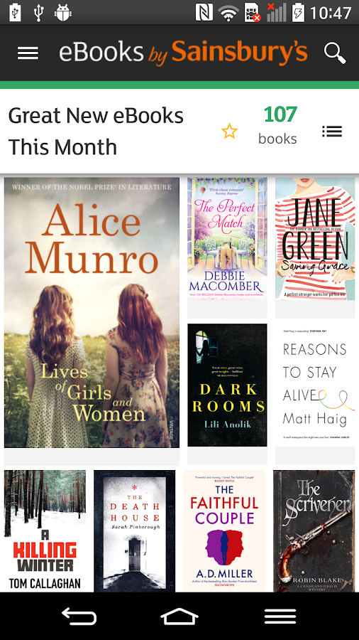 eBooks by Sainsbury's- screenshot