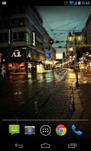 雨夜动态壁纸