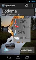 Screenshot of Weather Cast
