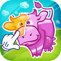 Kid's puzzle Farm games icon
