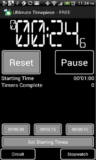 Easy Stopwatch and Timer