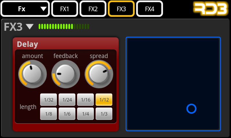 RD3 Demo - Groovebox - screenshot