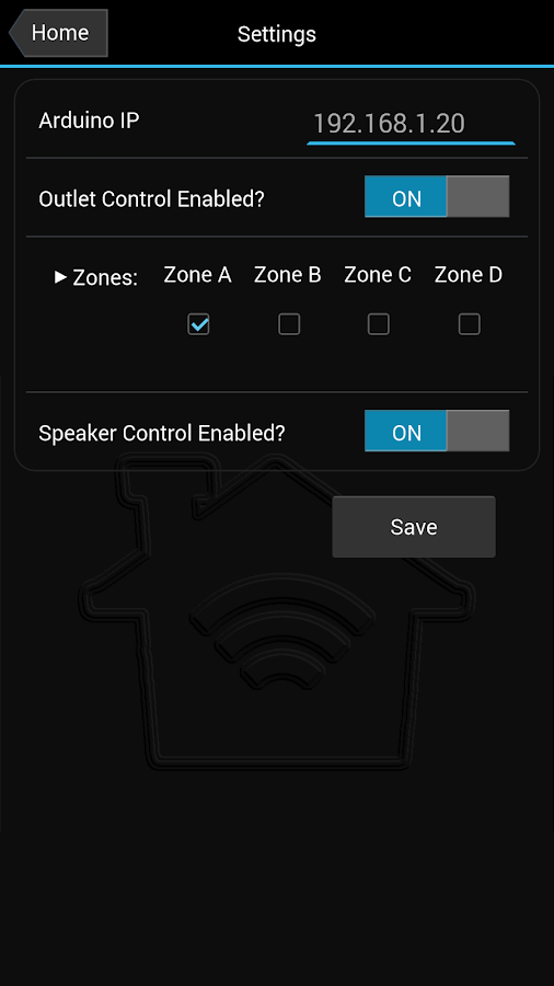 Home Remote- screenshot