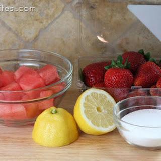 Strawberry-Watermelon Slushie {and Ice Pops!}