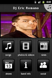 Dj Eric Romano - screenshot thumbnail