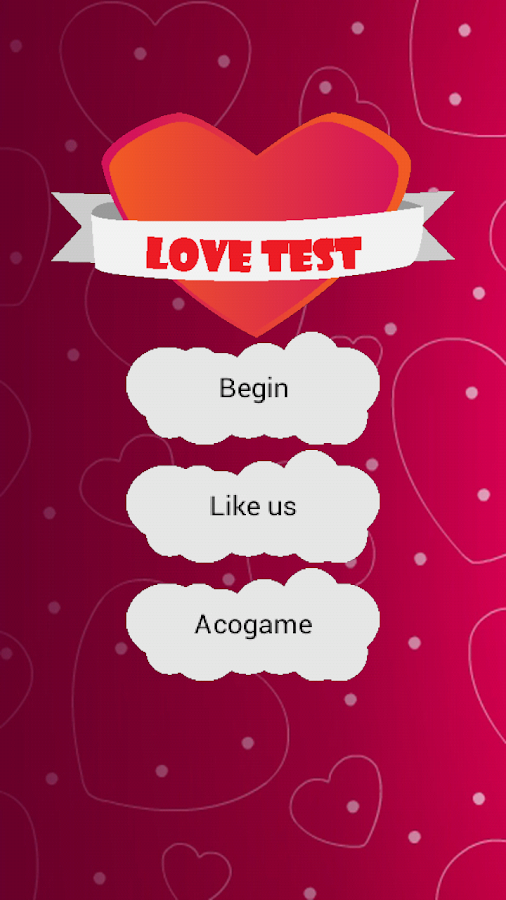 Love Test- screenshot