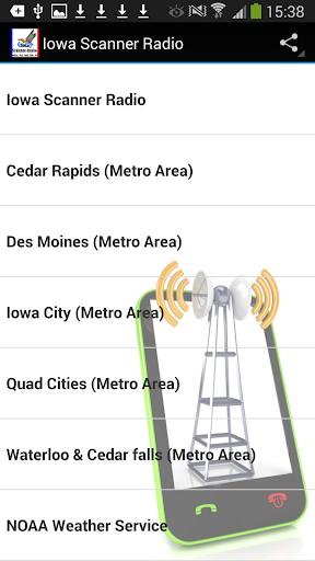 Iowa Scanner Radio