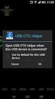 Screenshot of USB OTG Helper Donate Key