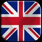 UK Bandera fondo animado icon