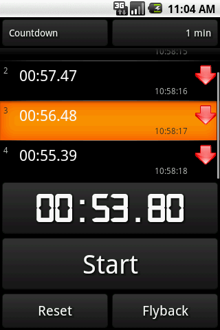 Stopwatch All in 1 - screenshot