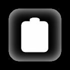 Battery status bar icon