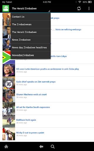 Zimbabwe News Free